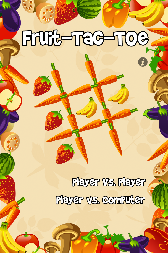 Screenshot Fruit Tac Toe – A Fruity Tic Tac Toe Adventure!