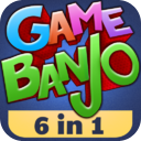 Gamebanjo (6-in-1 Games) mobile app icon